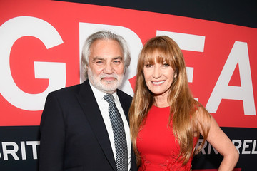 Jane Seymour David Green GREAT British Film Reception Honoring The British Nominees of The 90th Annual Academy Awards - Red Carpet