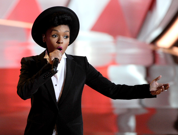 Janelle Monae - 2012 MTV Movie Awards - Show