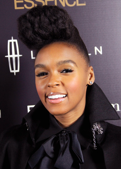 "Janelle Monae Recording artist Janelle Monae attends the second annual Essence ""Black Women in Music"" event at the Playhouse Hollywood on February 9, 2011 in Los Angeles, California."