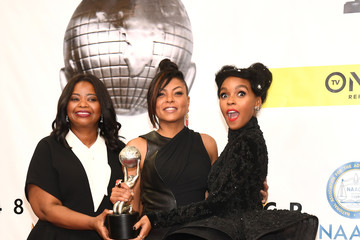 Janelle Monae 48th NAACP Image Awards -  Press Room