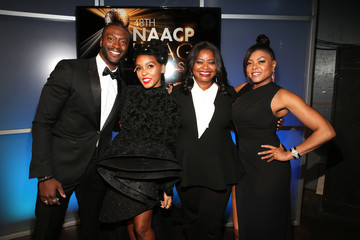 Janelle Monae 48th NAACP Image Awards - Backstage and Audience