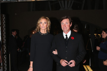 Janet Jones-Gretzky Hockey Hall of Fame Induction in Toronto