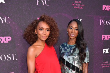 Janet Mock Angelica Ross Red Carpet Event For FX's 'Pose' - Arrivals