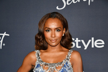 Janet Mock 21st Annual Warner Bros. And InStyle Golden Globe After Party - Arrivals