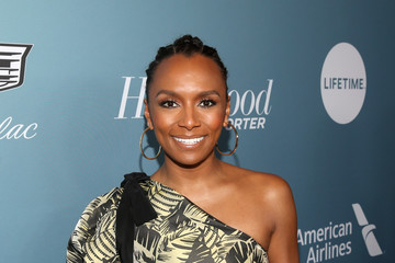 Janet Mock The Hollywood Reporter's Power 100 Women In Entertainment - Red Carpet
