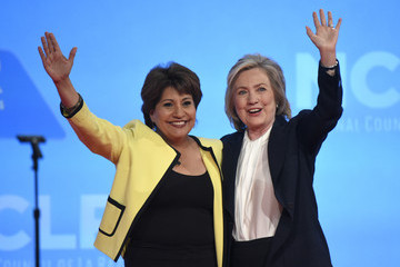 Janet Murguia Hillary Clinton Addresses  National Council of La Raza Conference