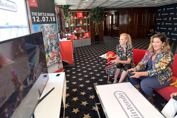 Janet Varney Nintendo At The Variety Studio At Comic-Con San Diego 2018