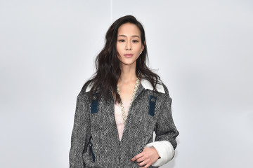 Janine Chang Chanel : Front Row  - Paris Fashion Week Womenswear Fall/Winter 2017/2018