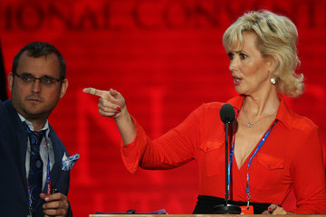 Janine Turner 2012 Republican National Convention Delayed By Tropical Storm Isaac