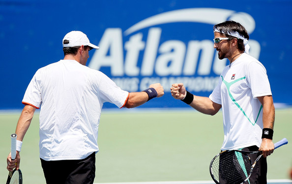 Janko Tipsarevic and Jonathan Erlich Photos Photos - Zimbio