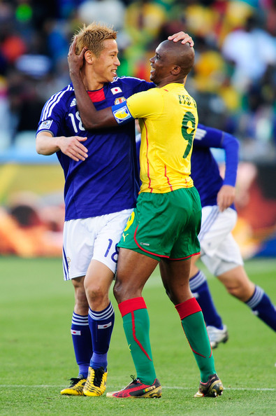 Japan v Cameroon: Group E - 2010 FIFA World Cup