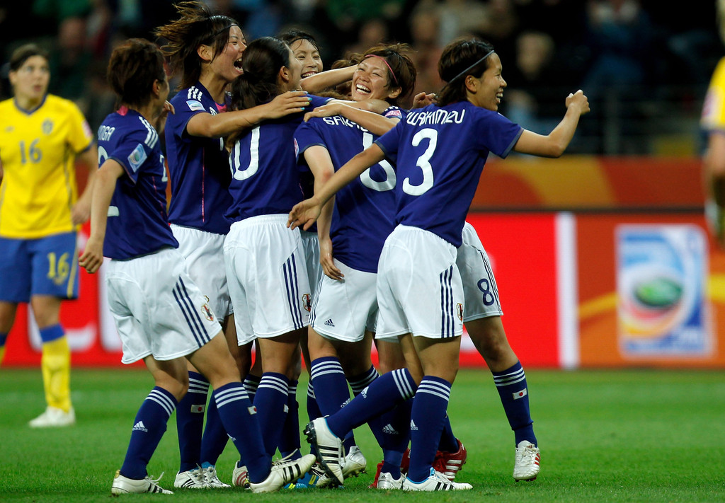 Japan v Sweden: FIFA Women's World Cup 2011 - Semi Final ...
