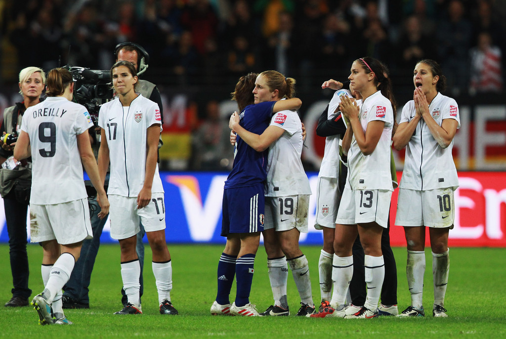 Japan v USA: FIFA Women's World Cup 2011 Final - Zimbio