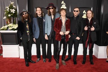 Jared Champion The 59th GRAMMY Awards - Arrivals