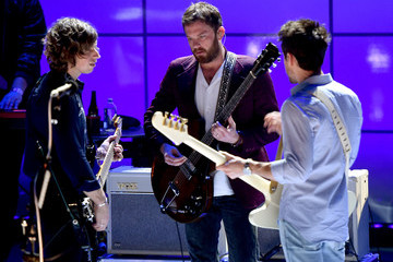 Jared Followill Kings Of Leon On AT&T At iHeartRadio Theater LA