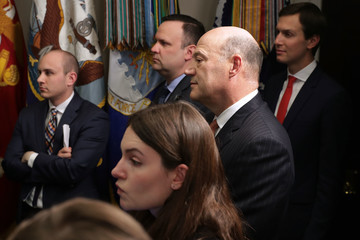 Jared Kushner Trump Signs Section 232 Proclamations On Steel And Aluminum Imports