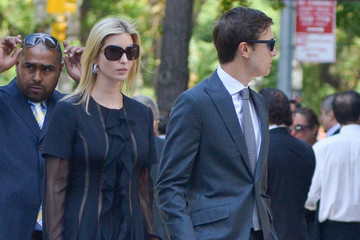 Jared Kushner Joan Rivers Memorial Service