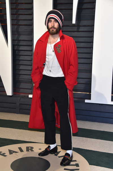 Jared Leto Photos Photos - 2017 Vanity Fair Oscar Party ...