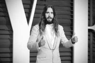 Jared Leto Alternative Look at the Vanity Fair Oscar Party
