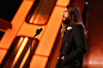 Jared Leto Backstage at the 18th Annual Hollywood Film Awards