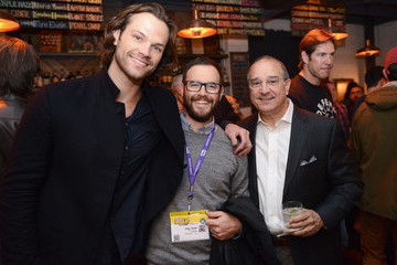Jared Padalecki Windows 10 and Team Gleason Host Fireside Chat With Steve Gleason At SXSW