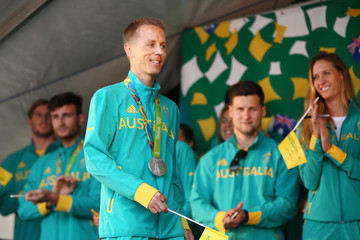 Jared Tallent Australian Olympic Team Adelaide Welcome Home Celebration