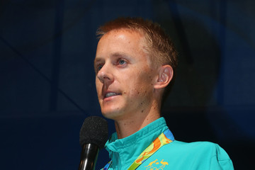 Jared Tallent Australian Olympic Team Melbourne Welcome Home Celebration