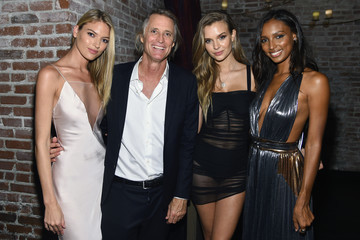 Jasmine Tookes Josephine Skriver Cindy Crawford, Ed Razek And Russell James Host Private Dinner Celebrating 'ANGELS' By Russell James Book Launch And Exhibit At TAO Downtown