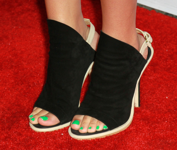Jasmine Villegas Singer Jasmine Villegas (shoe detail) attends the 9th annual Teen Vogue's Young Hollywood party at Paramount Studios on September 23, 2011 in Los Angeles, California.