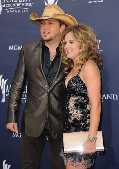 Country music singer Jason Alden with ex-wife Jessica Ann Ussery