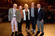 """Victor Syrmis,Jason Alexander,Pamela Shaw,Christopher Ashley and Leonard Morpurgo attends """"Lucky Stiff"""" opening at the 29th Annual Fort Lauderdale Film Festival at Amaturo Theater on November 7, 2014 in Fort Lauderdale, Florida."""
