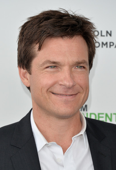 Jason Bateman Celebrates Two Emmy Nods With Wife At Ozark: 2014 Film Independent Spirit