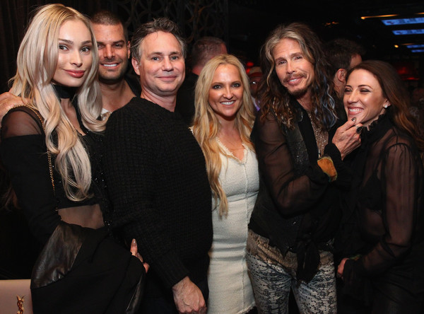 "DuJour's Jason Binn And Nicole Vecchiarelli Celebrate The ""Steven Tyler...Out On A Limb"" Charity Show Benefitting Janie's Fund With An Exclusive Event At LAVO"