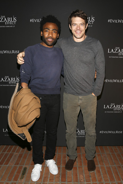 Donald Glover Jason Blum Jason Blum Photos Relativity Media Hosts A Special Screening Of The Lazarus Effect At The Hollywood Forever Cemetery Zimbio