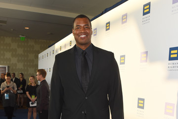 Jason Collins The Human Rights Campaign 2017 Los Angeles Gala Dinner - Red Carpet