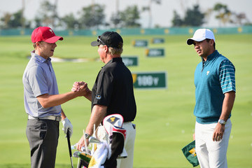 Jason Day Jordan Spieth The Presidents Cup - Preview Day 2