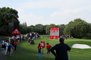 Jason Day WGC - HSBC Champions: Day One