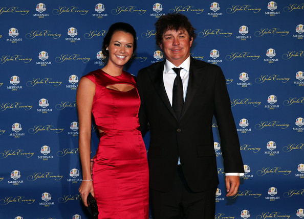 Jason Dufner Jason Dufner of the USA and his wife Amanda Dufner attend the 39th Ryder Cup Gala at Akoo Theatre at Rosemont on September 26, 2012 in Rosemont, Illinois.