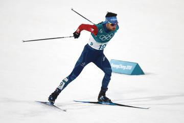 Jason Lamy Chappuis Nordic Combined - Winter Olympics Day 5