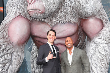Jason Liles Premiere Of Warner Bros. Pictures' 'Rampage' - Arrivals