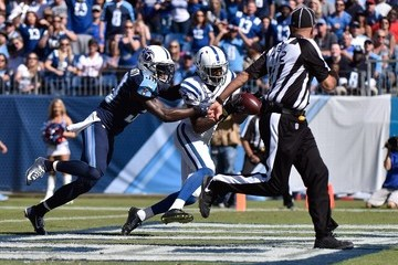 Jason McCourty Indianapolis Colts v Tennessee Titans