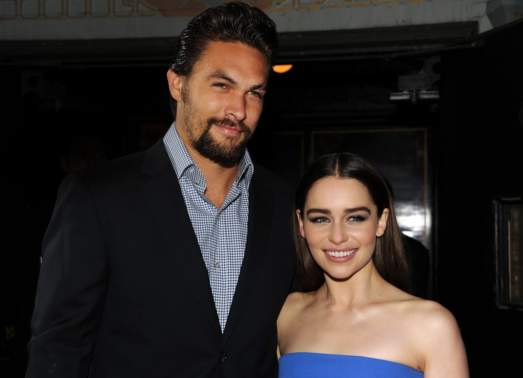 Jason+Momoa+Emilia+Clarke+Game+Thrones+S