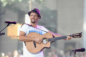 Jason Mraz Jason Mraz Performs on the 'Today' Show