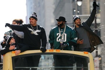 Jason Peters Super Bowl LII - Philadelphia Eagles Victory Parade