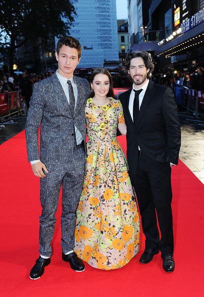 'Men, Women & Children' Premieres in London [red carpet,carpet,premiere,event,flooring,fashion,suit,formal wear,dress,ceremony,jason reitman,ansel elgort,kaitlyn dever,european,odeon covent garden,england,men women children,paramount pictures,premiere,european premiere]