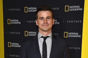 Jason Ritter National Geographic's Further Front Event In New York City - Red Carpet