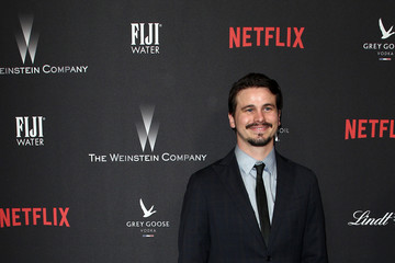 Jason Ritter The Weinstein Company and Netflix Golden Globe Party, Presented With FIJI Water, Grey Goose Vodka, Lindt Chocolate, and Moroccanoil - Red Carpet