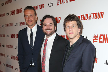 Jason Segel Premiere of A24's 'The End of the Tour' - Red Carpet