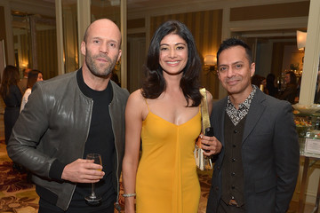 Jason Statham Ghalib Shiraz 'Younger Skin Starts in the Gut' Book Launch & Cocktail Party