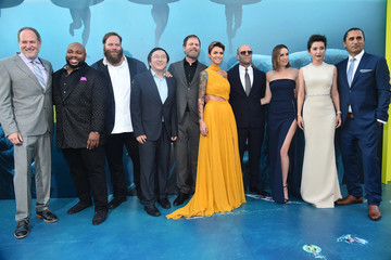Jason Statham Jessica McNamee Warner Bros. Pictures And Gravity Pictures' Premiere Of 'The Meg' - Red Carpet